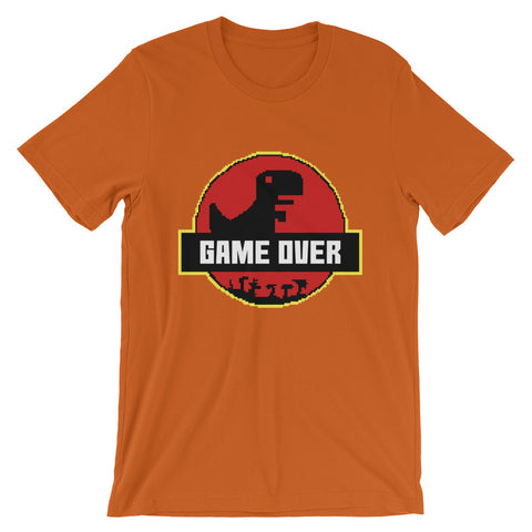 Image of Retro Game Over Park Short-Sleeve Unisex T-Shirt