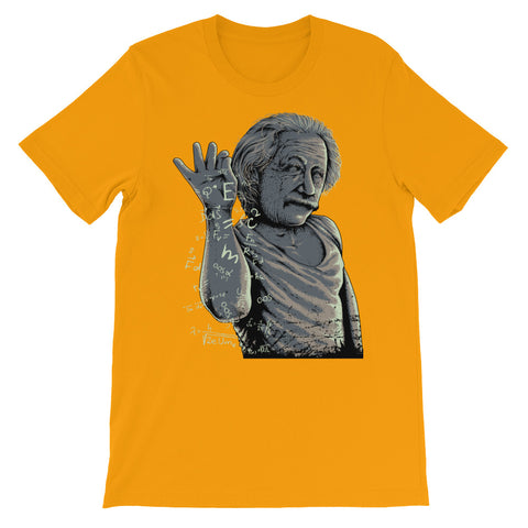 Image of Albae Einstein Unisex short sleeve t-shirt - CalvinMade