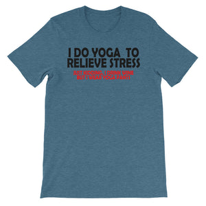 Relieve Stress Unisex short sleeve t-shirt - CalvinMade