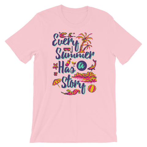 Image of Retro Every Summer has a story Short-Sleeve Unisex T-Shirt