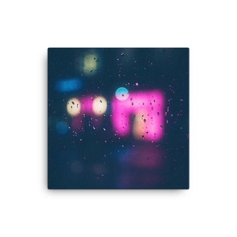 Image of Neon Sign Canvas - CalvinMade