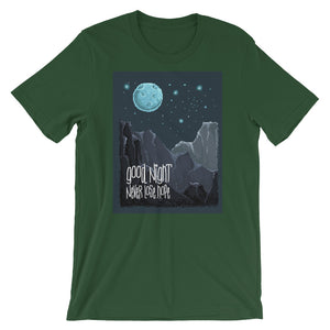 Retro Good Night, Never Lose Hope Short-Sleeve Unisex T-Shirt