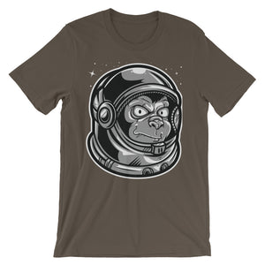 Space Monkey Unisex short sleeve t-shirt - CalvinMade