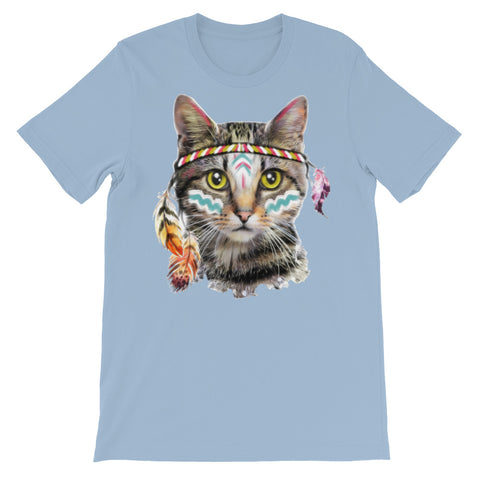 Image of Look at me Meow Unisex short sleeve t-shirt - CalvinMade