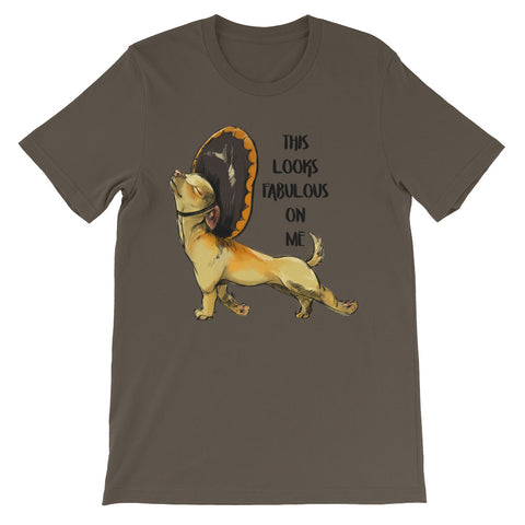 Image of This looks fabulous on me Unisex short sleeve t-shirt - CalvinMade