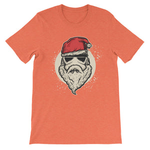 Santa Trooper Unisex short sleeve t-shirt - CalvinMade