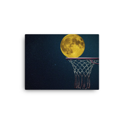 Image of Moon Shot Canvas