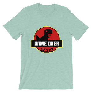 Retro Game Over Park Short-Sleeve Unisex T-Shirt