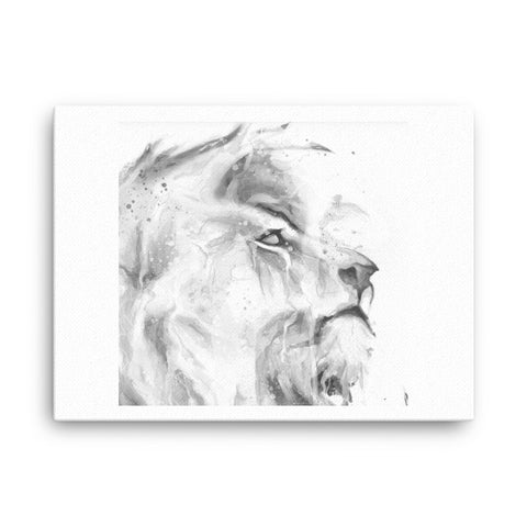 Image of Lion Canvas - CalvinMade