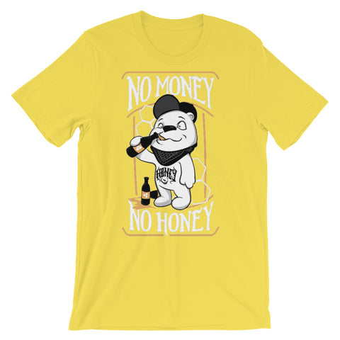 Image of No Money No Honey Unisex short sleeve t-shirt - CalvinMade