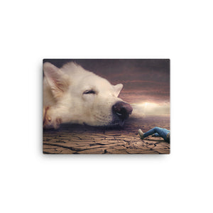 Boy who Cried Wolf Canvas