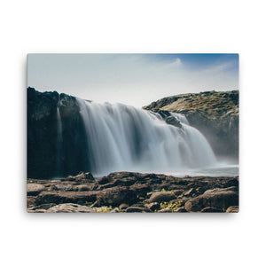 Large Water Fall Canvas - CalvinMade