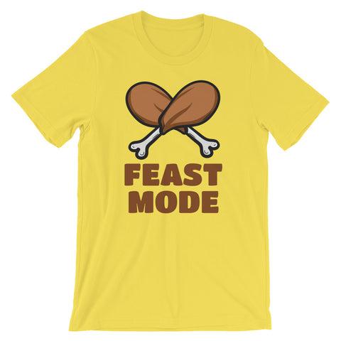 Image of Feast Mode Short-Sleeve Unisex T-Shirt - CalvinMade