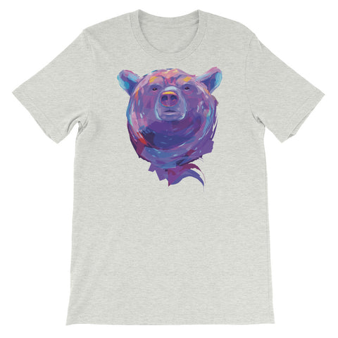 Image of Eclectic Bear Unisex short sleeve t-shirt - CalvinMade