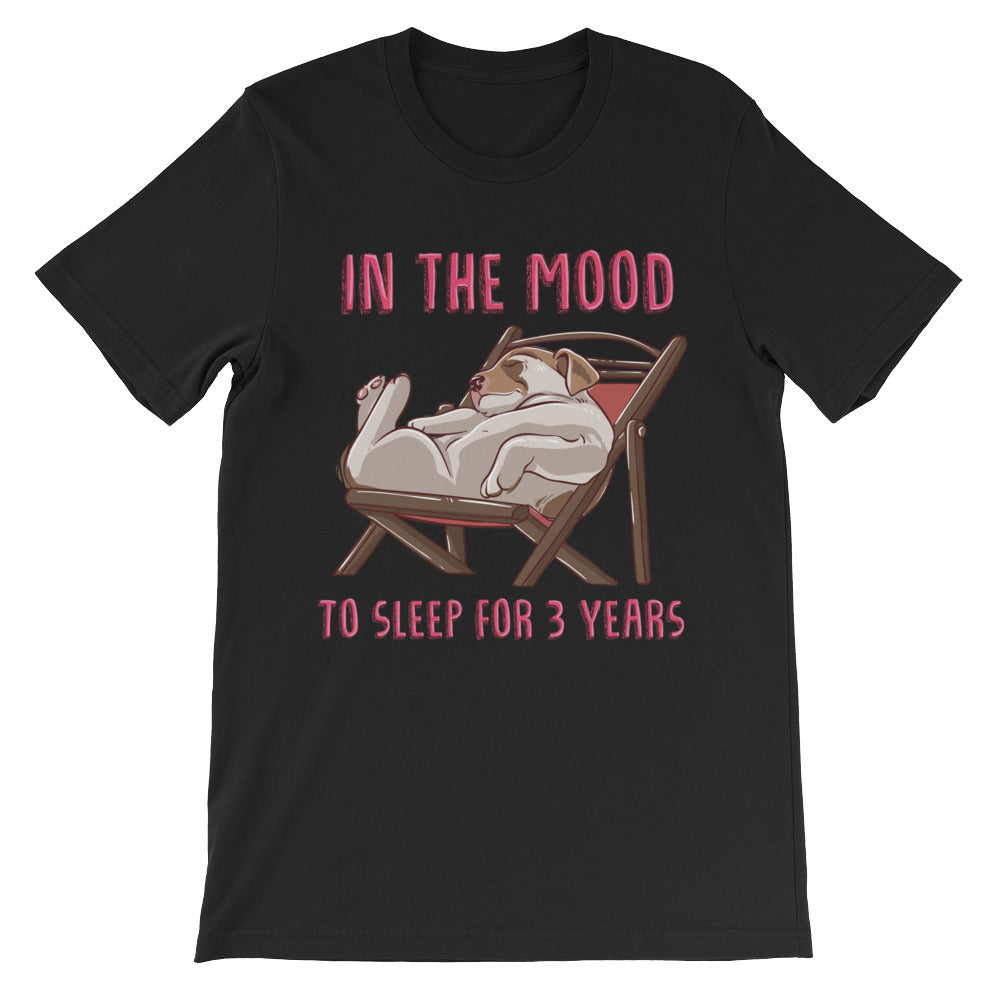 In the Mood Unisex short sleeve t-shirt - CalvinMade