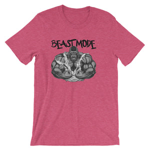 Beast Mode Unisex short sleeve t-shirt - CalvinMade