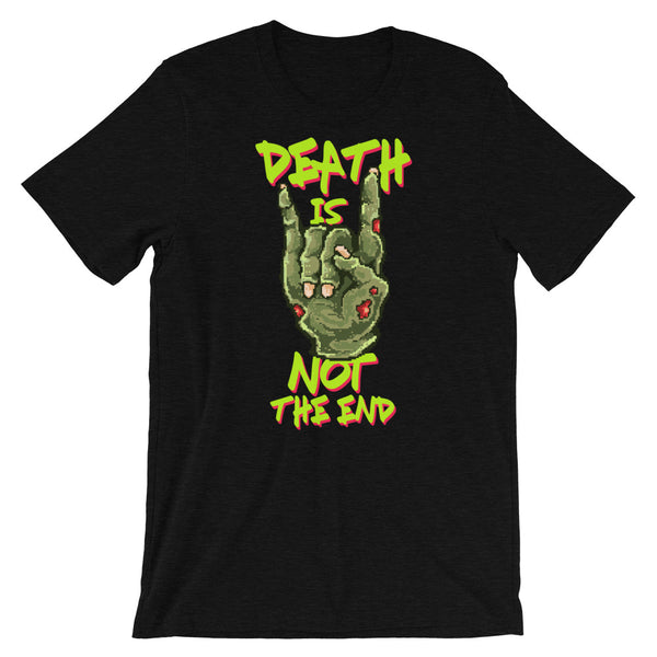 Retro Death is not the end Short-Sleeve Unisex T-Shirt