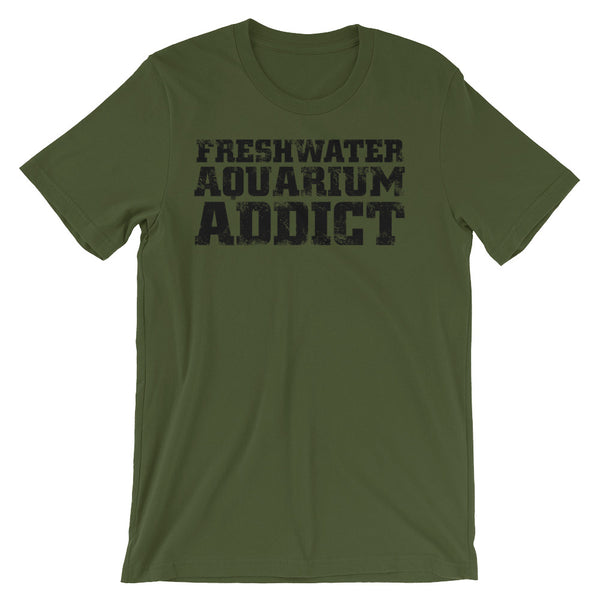 Fresh Water Aquarium Addict Unisex short sleeve t-shirt