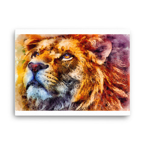 Image of Lion Canvas