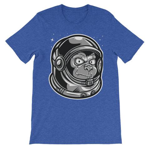 Image of Space Monkey Unisex short sleeve t-shirt - CalvinMade