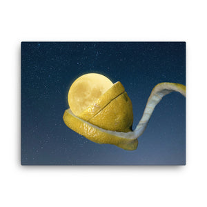 Lemon Moon Canvas