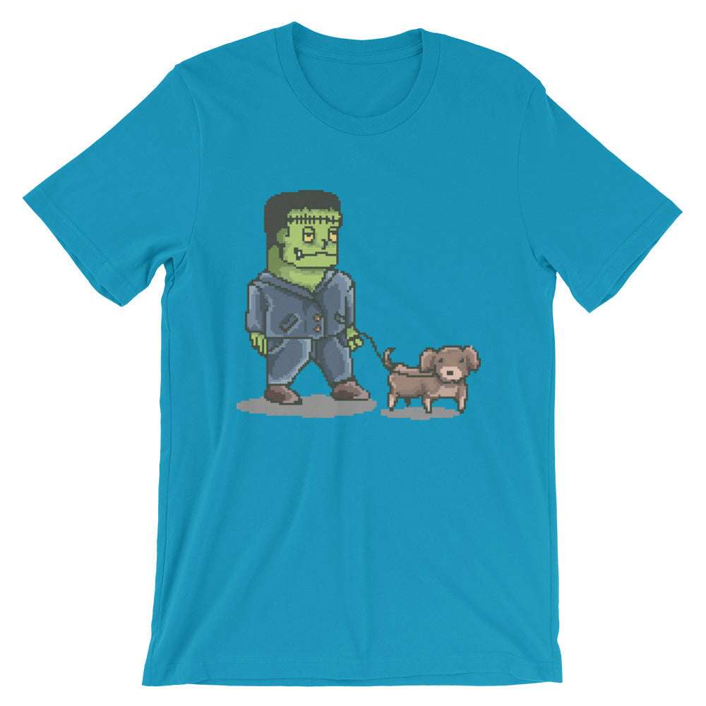 Retro FrankenDog Short-Sleeve Unisex T-Shirt