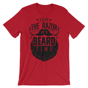 Beard Time Unisex short sleeve t-shirt - CalvinMade