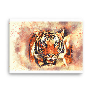 Tiger Hunt Canvas
