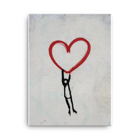 Image of Hang onto Love Canvas - CalvinMade