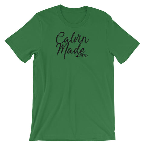 Image of CalvinMade Unisex short sleeve t-shirt - CalvinMade
