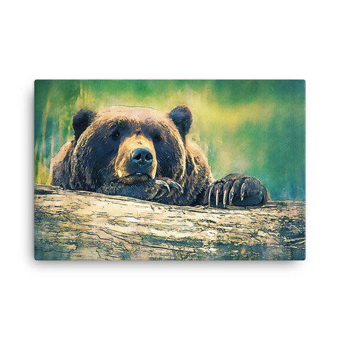 Image of Bear Canvas