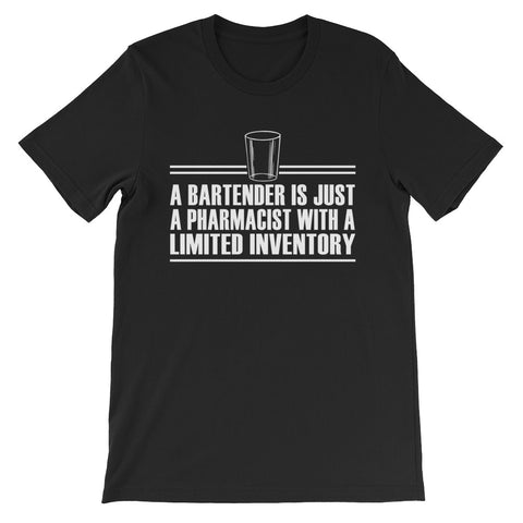 A Bartender is Unisex short sleeve t-shirt - CalvinMade