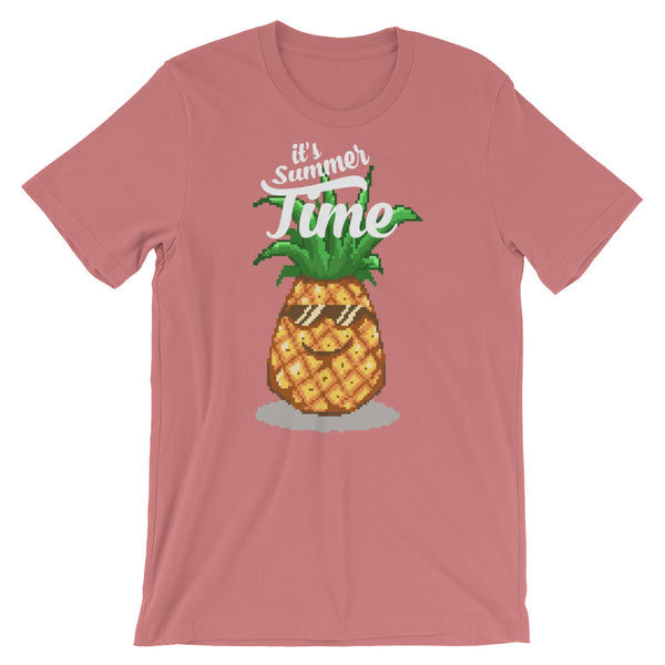 Retro Its Summer Time Short-Sleeve Unisex T-Shirt
