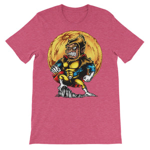 Super Monkey Unisex short sleeve t-shirt - CalvinMade