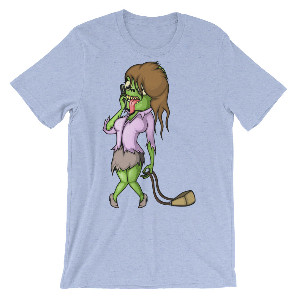 Office Zombie Janet Unisex short sleeve t-shirt - CalvinMade