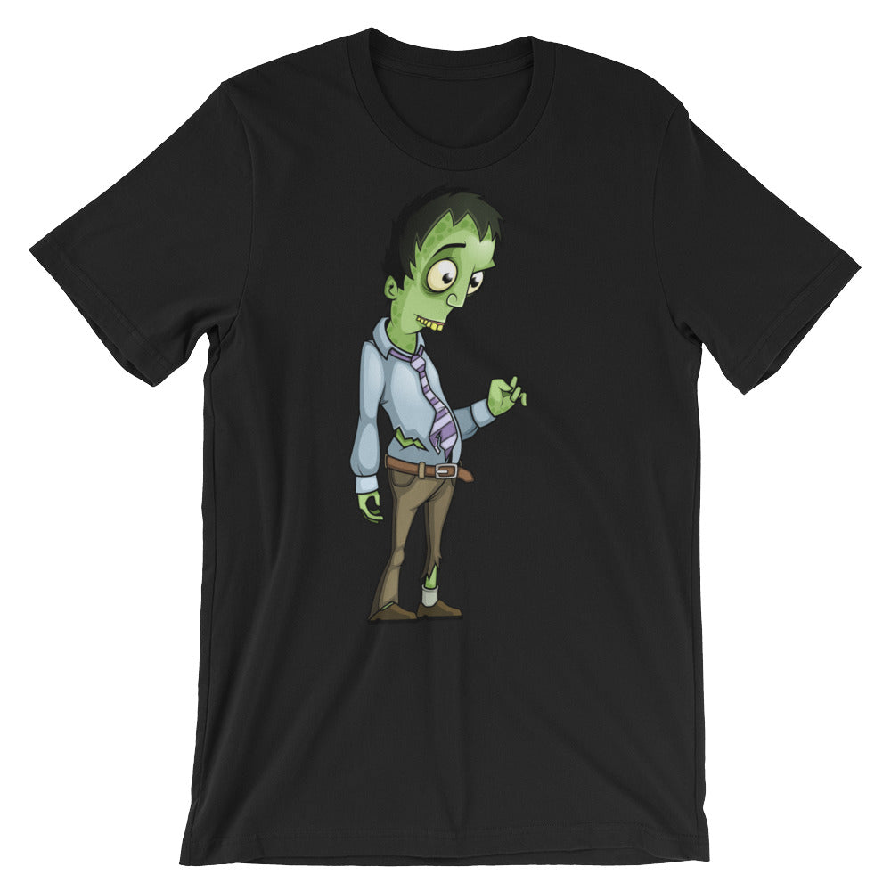 Office Zombie Bob Unisex short sleeve t-shirt