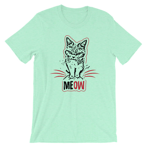 Image of MEOW Short-Sleeve Unisex T-Shirt - CalvinMade