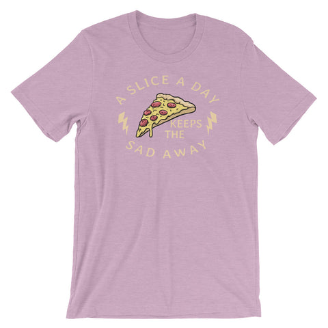 A Slice a Day Short-Sleeve Unisex T-Shirt - CalvinMade