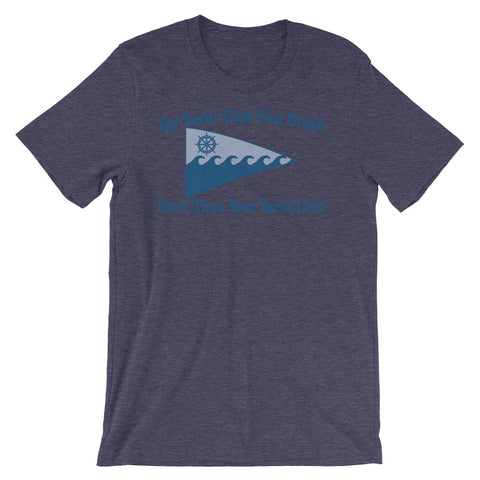 Image of My Yacht Club Unisex short sleeve t-shirt - CalvinMade