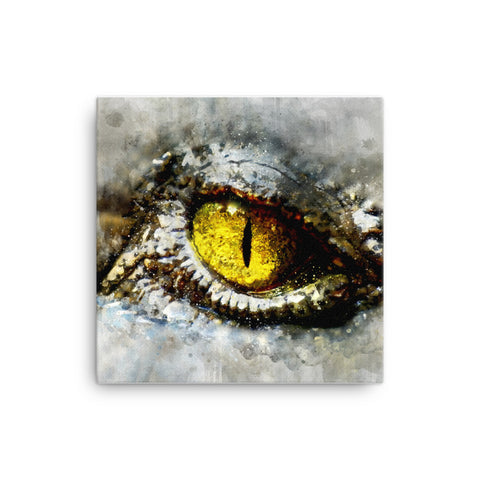 Alien Eyes Canvas