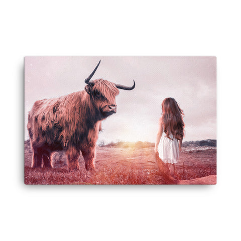 Girl vs Nature Canvas