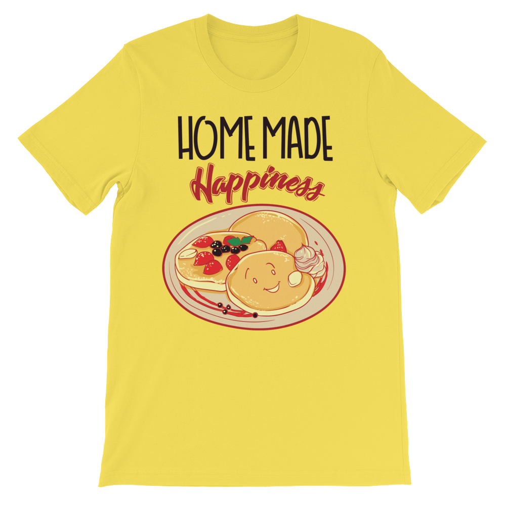 Home made Happiness Unisex short sleeve t-shirt - CalvinMade