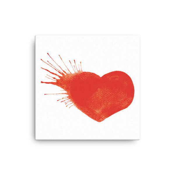 Heart Explosion Canvas - CalvinMade