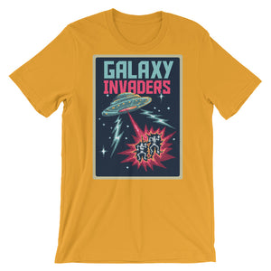 Retro Galaxy Invaders Short-Sleeve Unisex T-Shirt