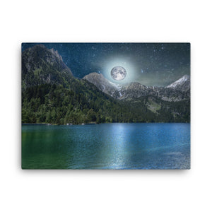 Moon Lake Canvas