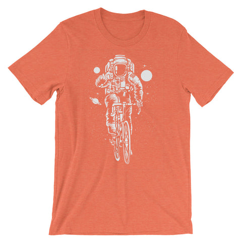 Image of Astronaut Ride Short-Sleeve Unisex T-Shirt - CalvinMade