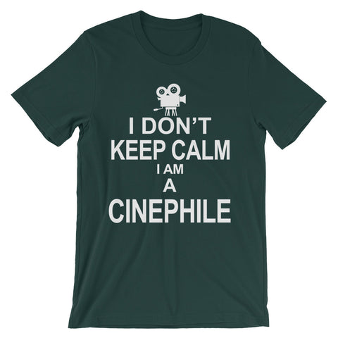 Image of Cinephile Unisex short sleeve t-shirt - CalvinMade