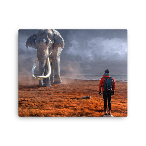 Image of Elephant Canvas