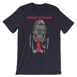 Monkey Business Unisex short sleeve t-shirt - CalvinMade