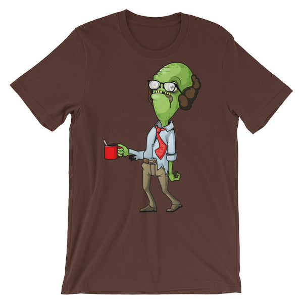 Office Zombie Carl Unisex short sleeve t-shirt - CalvinMade